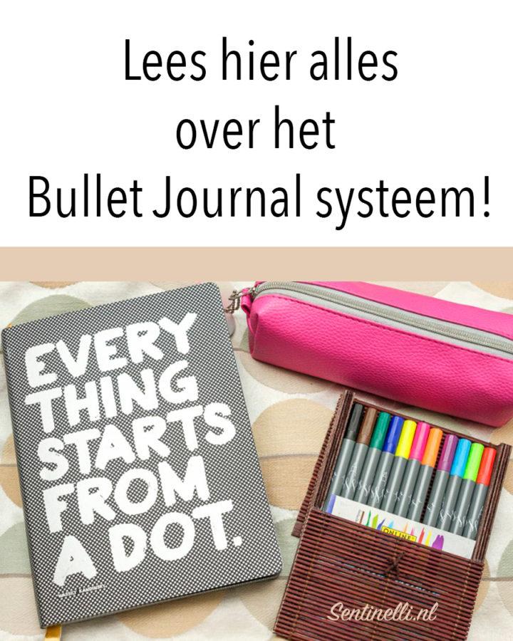 Lees hier alles over het Bullet Journal systeem!