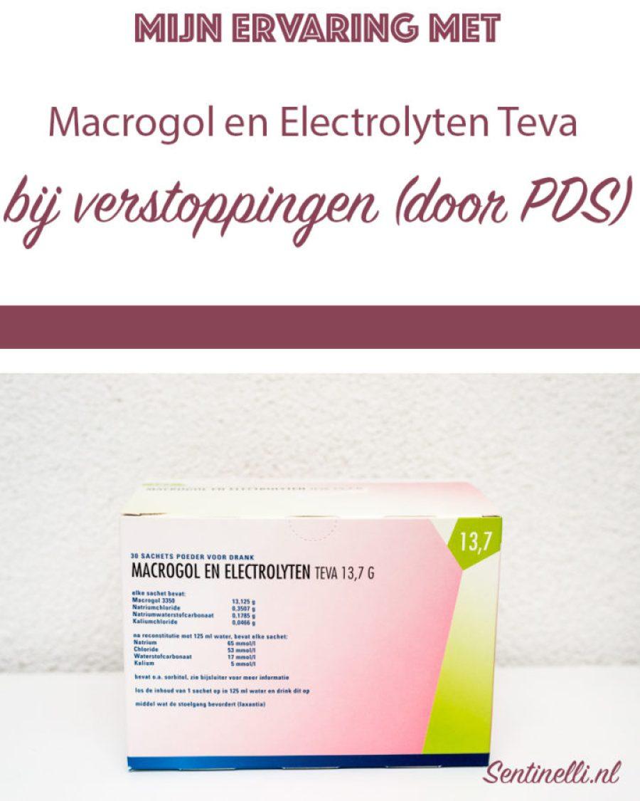Mijn ervaring met Macrogol en Electrolyten Teva bij verstoppingen (door PDS)