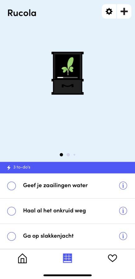 Makkelijke moestuin update - app