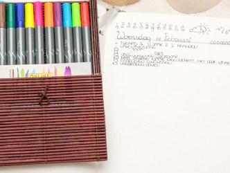 Calli.Brush Pens in Bamboo Case – 14,99 Euro