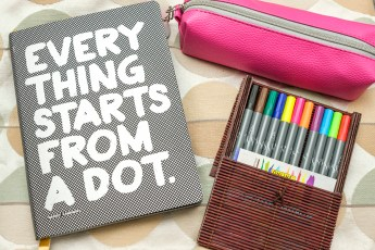 Nuuna notitieboek A5+ Everything Starts From a Dot 28,90 Euro