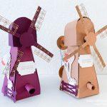 Molen cadeauverpakking - Stampin' Up Sale a-bration producten