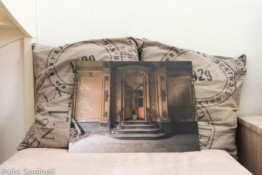 Foto op aluminium via Webprint