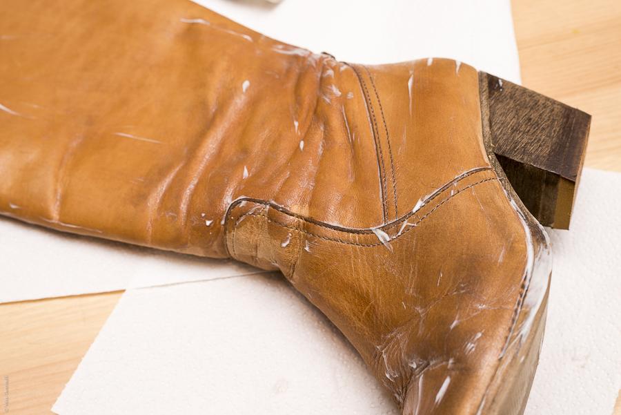 Laarzen onderhouden