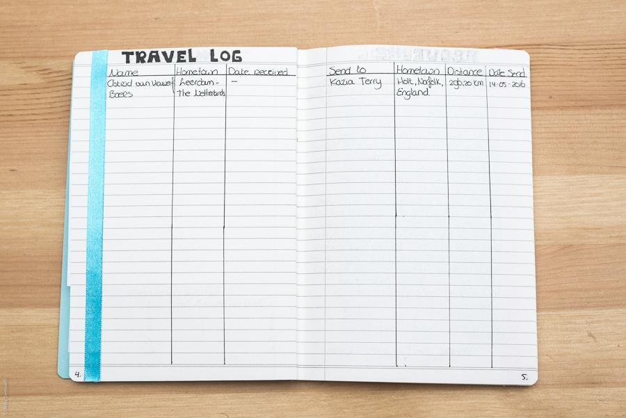 Bullet Journal Swap Update - Travelling Journal
