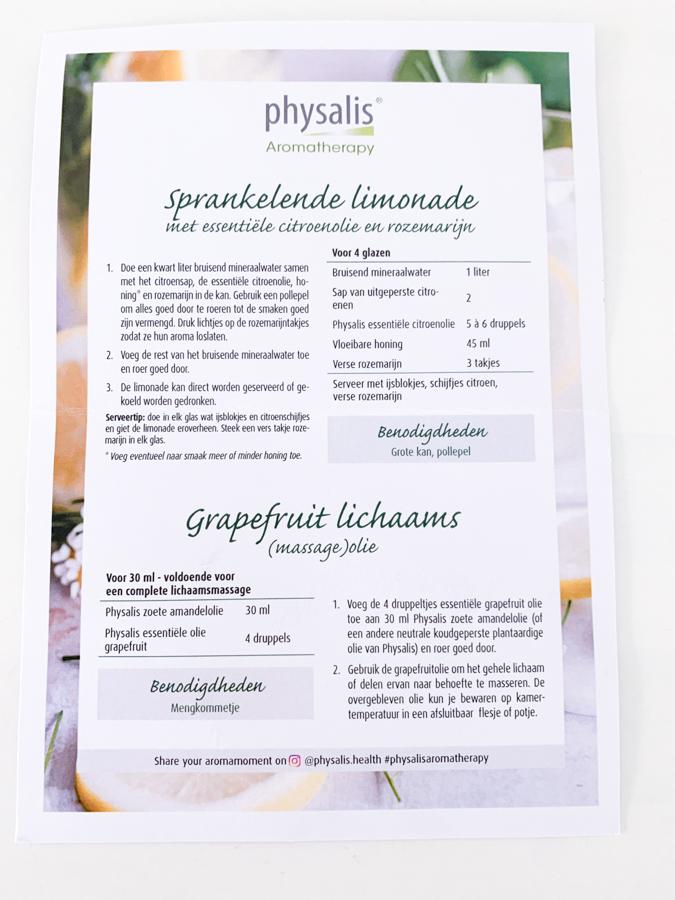Physalis Aromatherapy Citrus Experience Kit