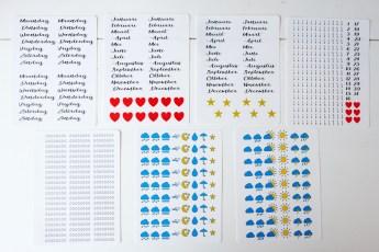 Planner stickers