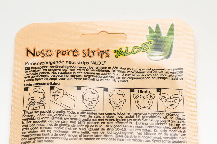 Purederm Nose Pore Strips 'Aloe'