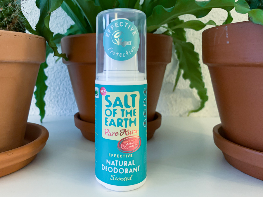 Salt Of The Earth Pure Aura Melon & Cucumber Spray en Salt Of The Earth Unscented Classic Stick