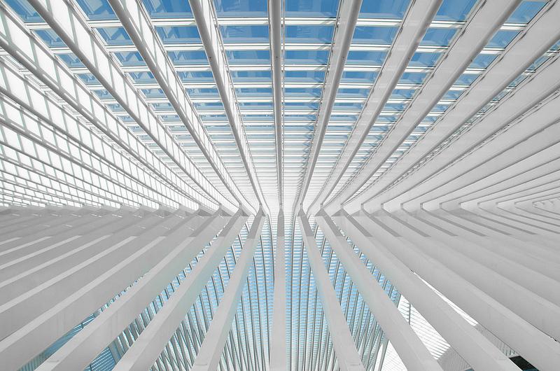 Station Luik-Guillemins: prachtige architectuur!