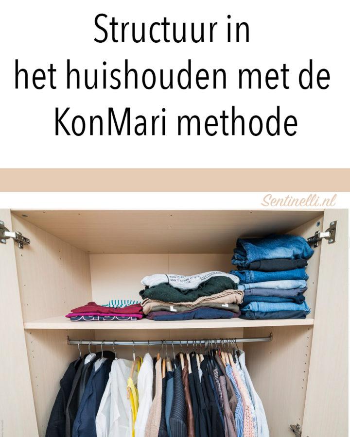 Structuur in het huishouden met de KonMari methode