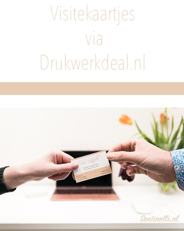 Visitekaartjes via Drukwerkdeal.nl