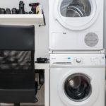 Weinig ruimte? Zet de droger bovenop de wasmachine!