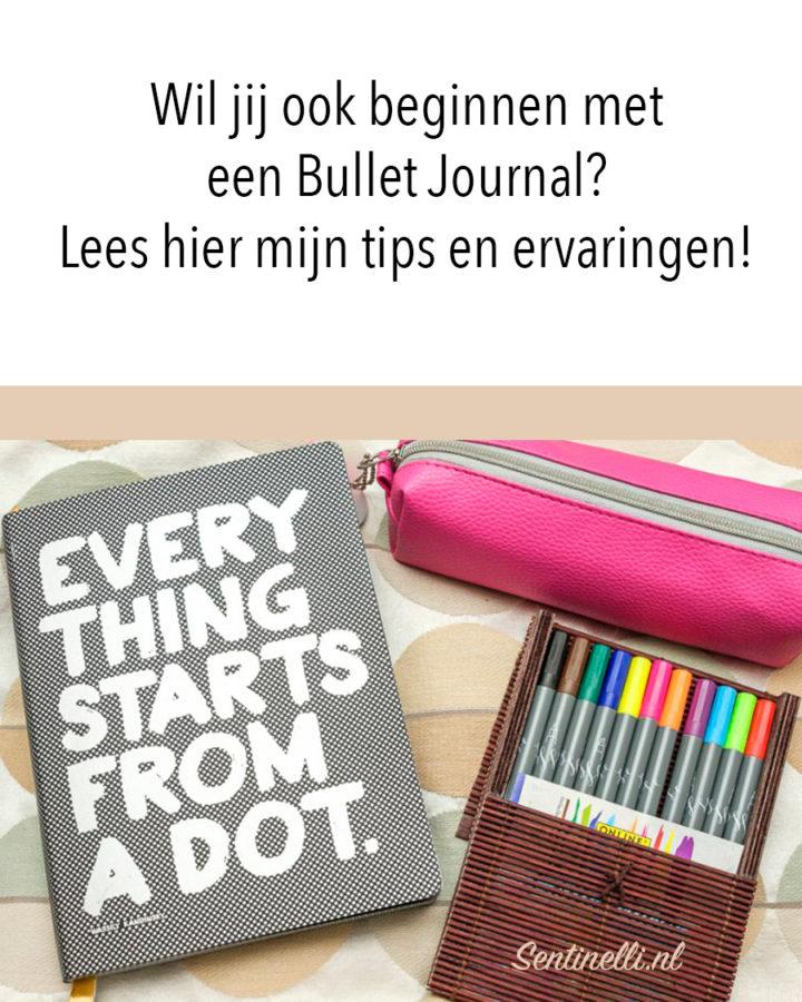 Wil jij ook beginnen met een Bullet Journal? Lees hier mijn tips en ervaringen!