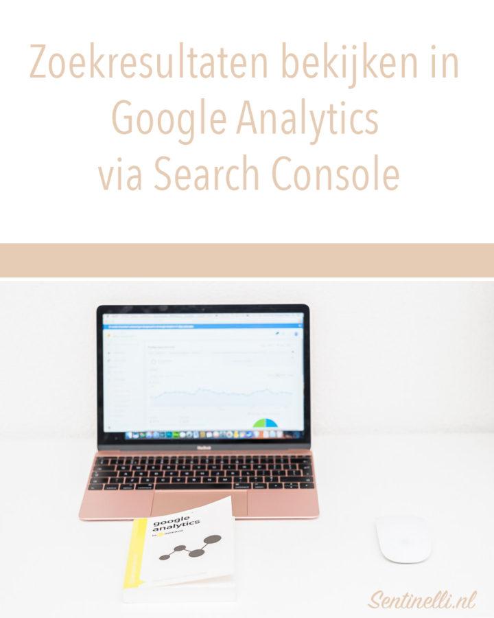 Zoekresultaten bekijken in Google Analytics via Search Console