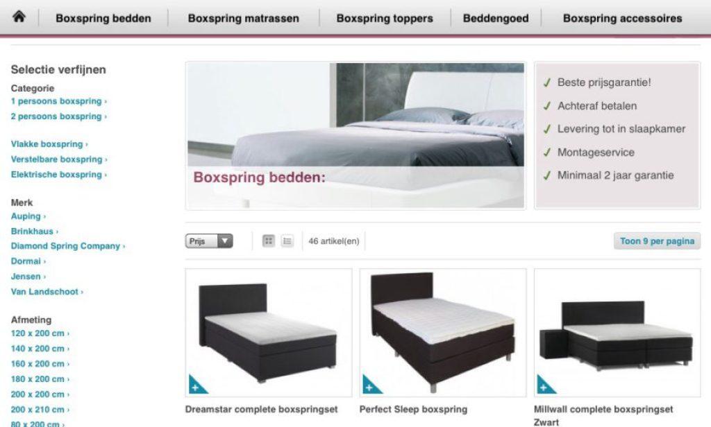 Ik Zoek Een Bed.Op Zoek Naar Een Nieuwe Boxspring Bed