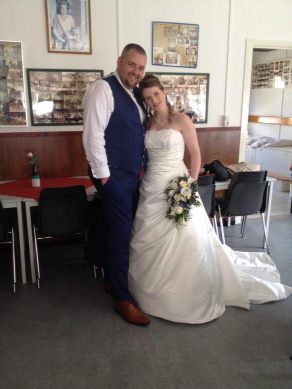 We zijn getrouwd!!