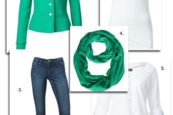 Trendy lente outfit