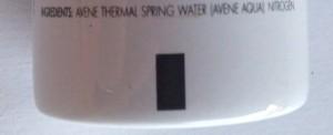 Ingredienten Thermal Spring Water