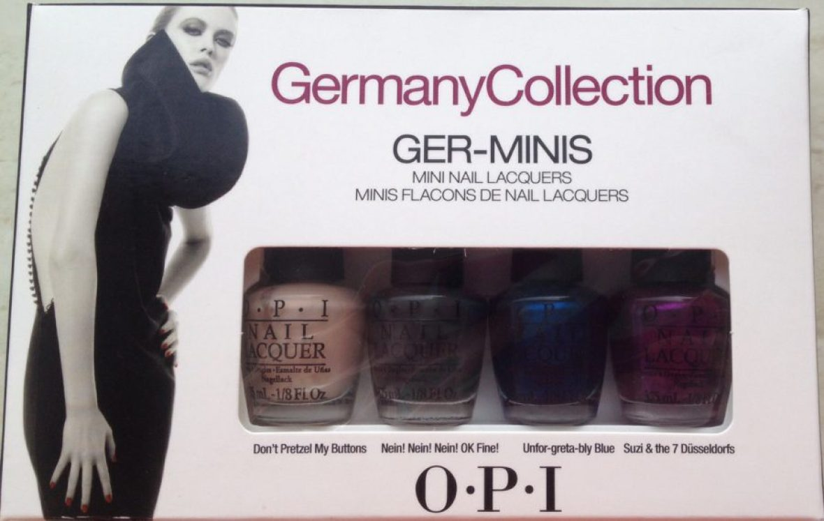 O.P.I - Germany Collection