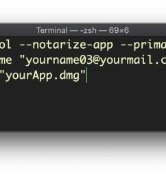image of notarizing an app [ 1762 x 578 Pixel ]