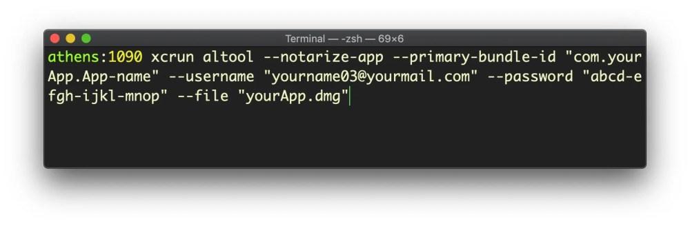 medium resolution of image of notarizing an app