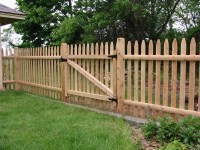 Backyard Wood Fence | Outdoor Goods