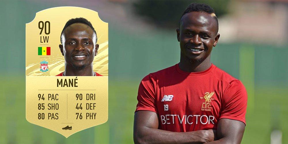 FIFA 21 : Sadio Mané dans le Top 10 des joueurs les mieux notés - SENTV