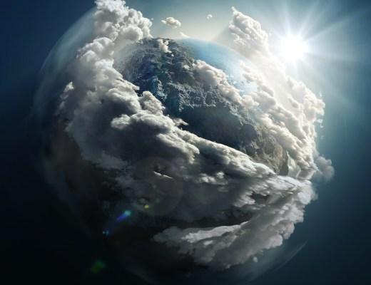 Mevla Yolunda yazısı için uzaydan dünya üzerinde güneşin doğuşu