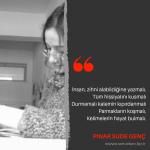 Yazarlarımızdan Alıntılar | Pınar Sude Genç