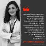 Yazarlarımızdan Alıntılar | Dyt. Simay Ejderoğlu