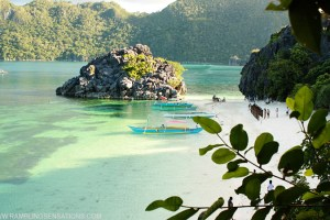 Camping at the Caramoan Islands