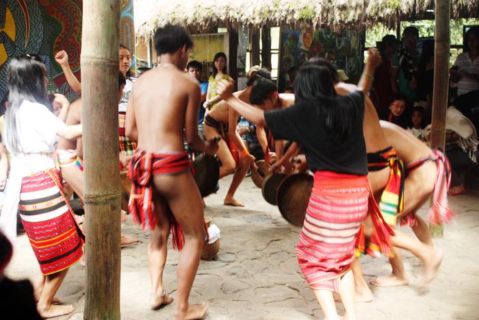 An Igorot native dance
