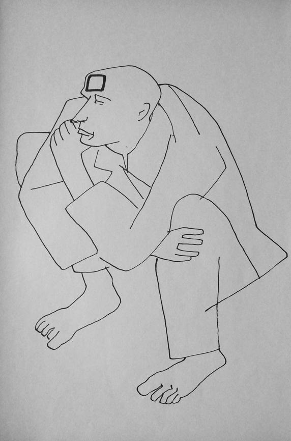 Disegni di Roberto Sambonet tratti dal volume Della Pazzia (ed. M'arte, Milano, 1977) (8)