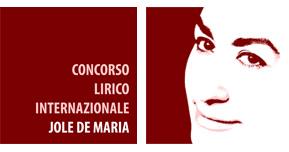 logo concorso lirico JOLE DE MARIA