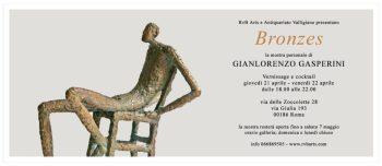 Invito RvB Arts_BRONZES_Gianlorenzo Gasperini_21-22 aprile