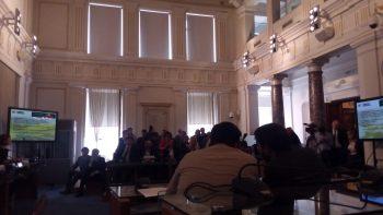 Fiera di Roma, presentazione alla camera di commercio. Piccineti. @SenzaBarcode