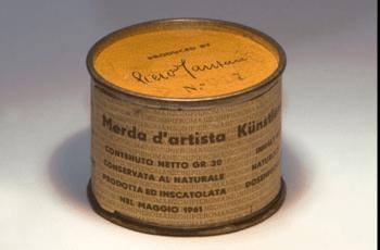 Merda d'artista di Piero Manzoni