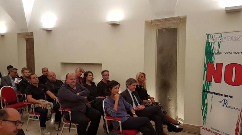 Fabrizio Di Stefano, centrodestra unito per il no