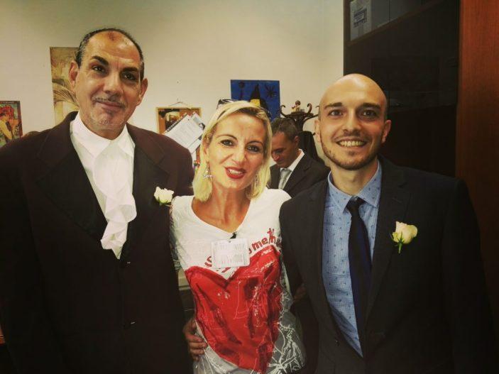 Unioni civili: SenzaBarcode festeggia Alessandro e Mauro