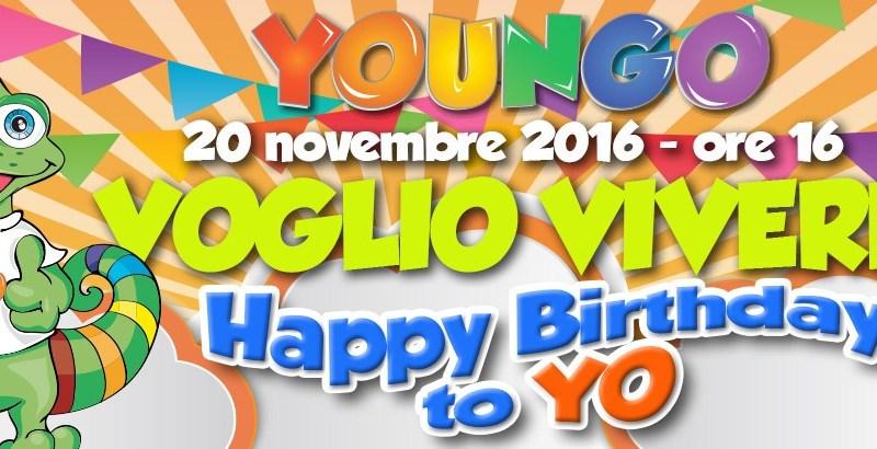 YOUNGO festeggia con un impegno di solidarietà per tutto l'anno