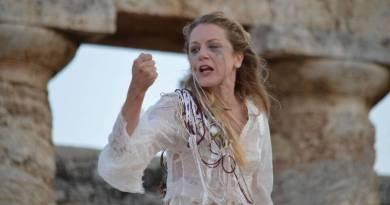 Aiace di Ritsos con Viola Graziosi al Teatro Lo Spazio dal 2 al 7 maggio