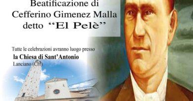 Beatificazione del primo Rom Gitano reso Beato nel 1997 da Papa Giovanni II Zeffirino Jiménez Malla