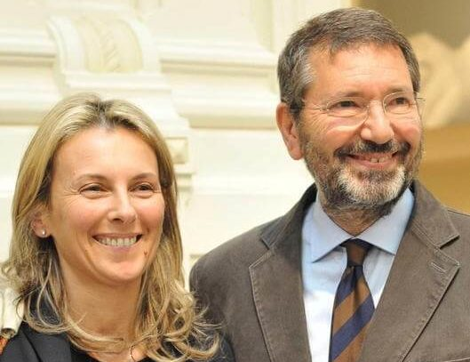 Simona Laing e Ignazio Marino