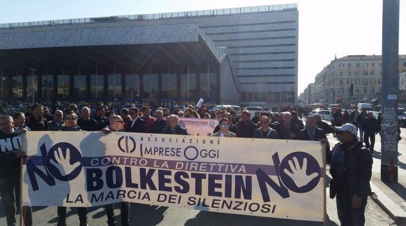 Associazioni e Federazioni unite per dire NO Bolkestein, giovedì 25 maggio presso l'Auditorium del Massimo all'EUR di Roma dalle 17. Intervista a Marrigo Rosato, segretario Imprese Oggi.