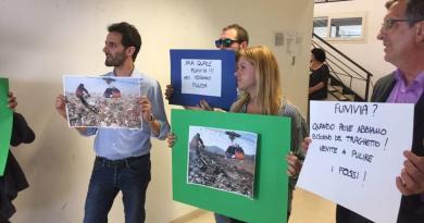 Il Sindaco di Roma, Virginia Raggi, in visita al Municipio XIII per illustrare una importante novità: il progetto funivia... E i cittadini che fanno?