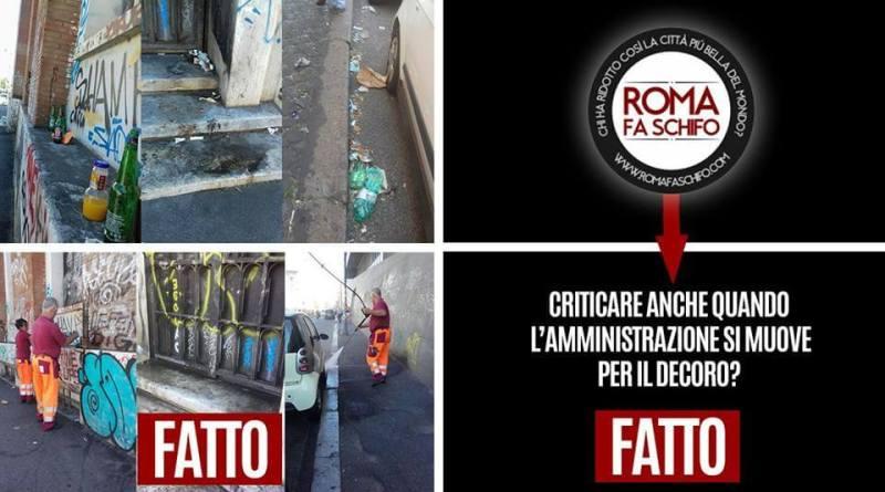 """Il presidente della Commissione Ambiente Daniele Diaco (M5S) . """"Da 'Roma fa schifo' attacco pretestuoso e privo di fondamento"""""""