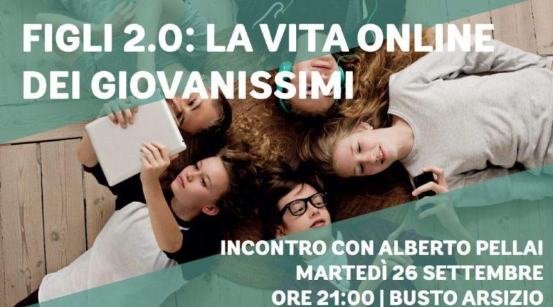 Figli 2.0:a Busto Arsizio l'incontro con Alberto Pellai