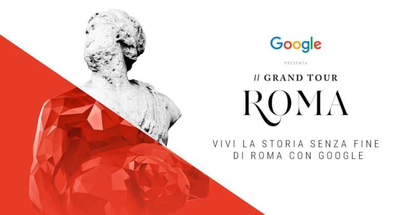 GoogleGrand Tour d'Italia. Capolavori, tradizioni e bellezze del nostro Paese rivivono online attraverso la tecnologia. Al MACRO Testaccio il 2 e 3 dicembre l'esposizione gratuita.