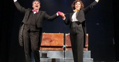 """Fino al4 febbraio al Teatro dell'Angelo, in occasione della settimana della memoria, approda l'operetta firmata da Gianni Gori e Alessandro Gilleri """"ti parlerò d'amor""""."""
